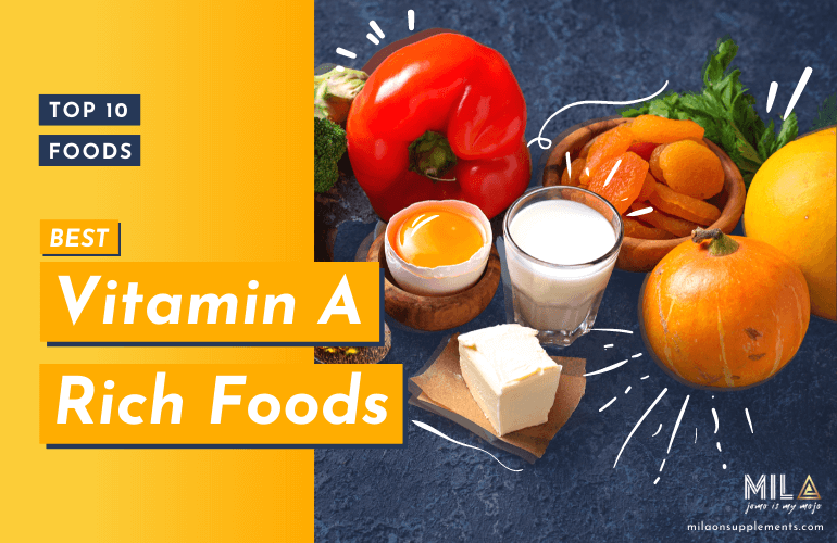 Top 10 foods rich in Vitamin A