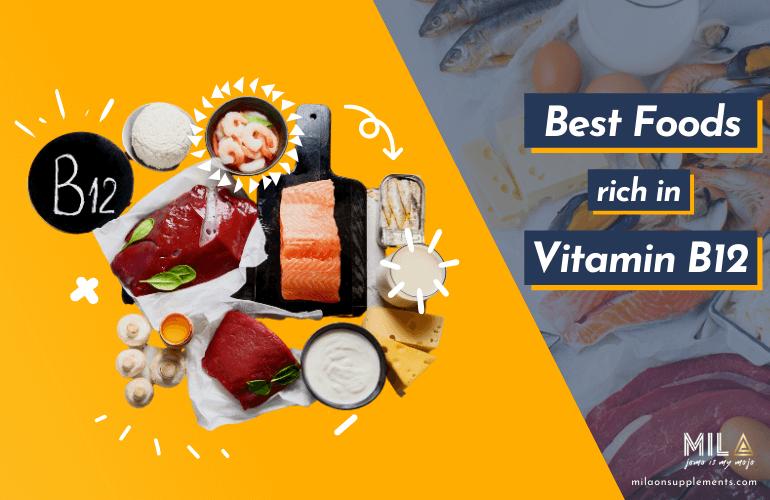 Best Foods Rick in Vitamin B-12