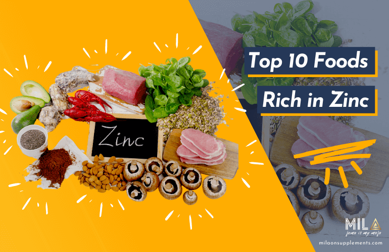 Top 10 Foods rick in zinc