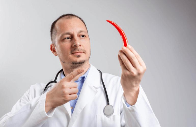 Seek a doctor for severe capsaicin burns