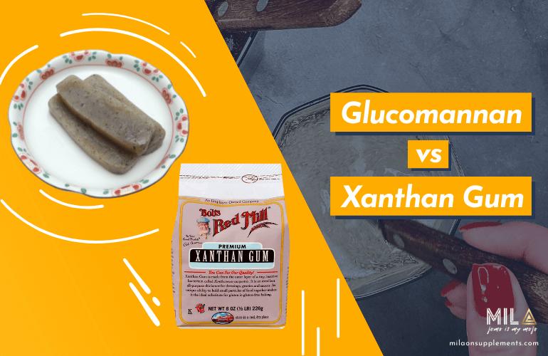 Glucomannan vs Xanthan Gum